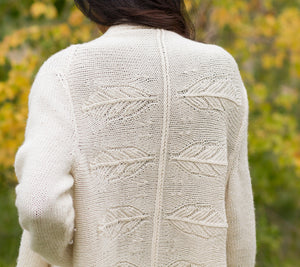 Feather Cardigan Wrap Pattern
