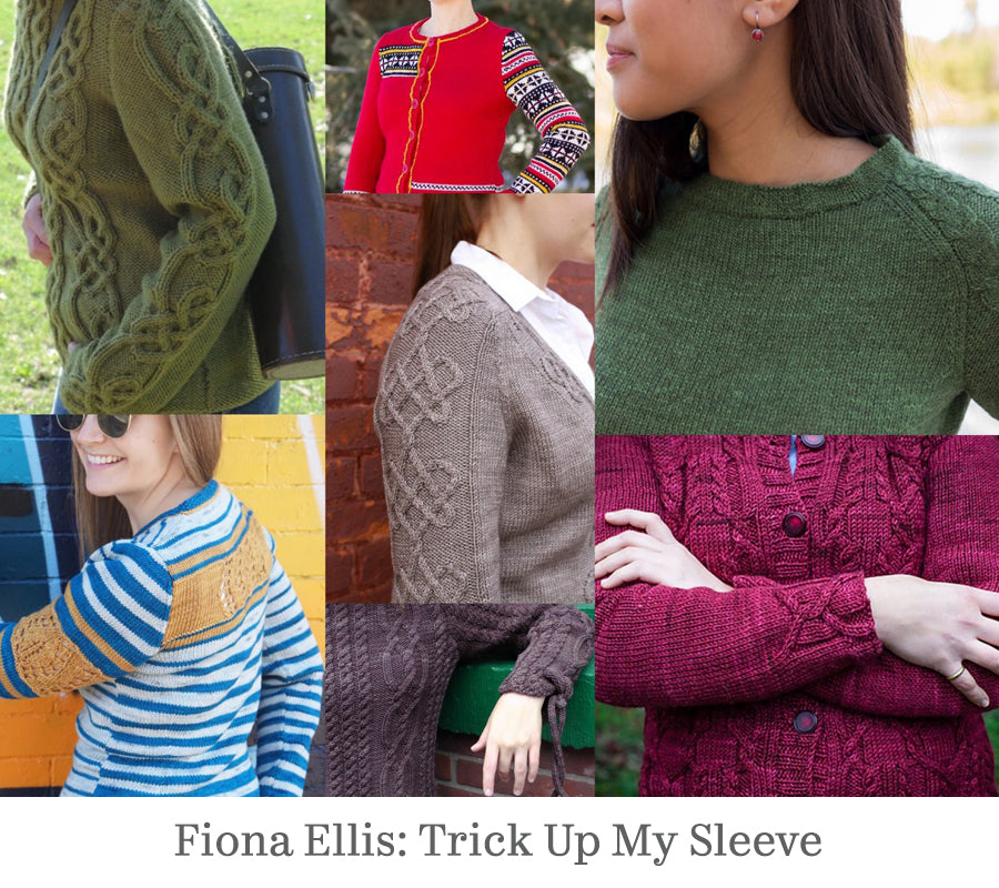 A variety of sleeve styles illustrate this workshop