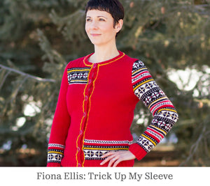 Fiona Ellis design shows a set in sleeve