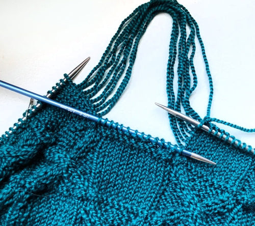 Holli Yeoh: Fixing Mistakes (Lace & Cables)