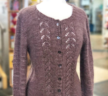 Load image into Gallery viewer, A sample Cardigan of Fleece Artist Queen's County Kits