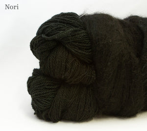 A close up of Fleece Artist Queen's County Kits in Nori