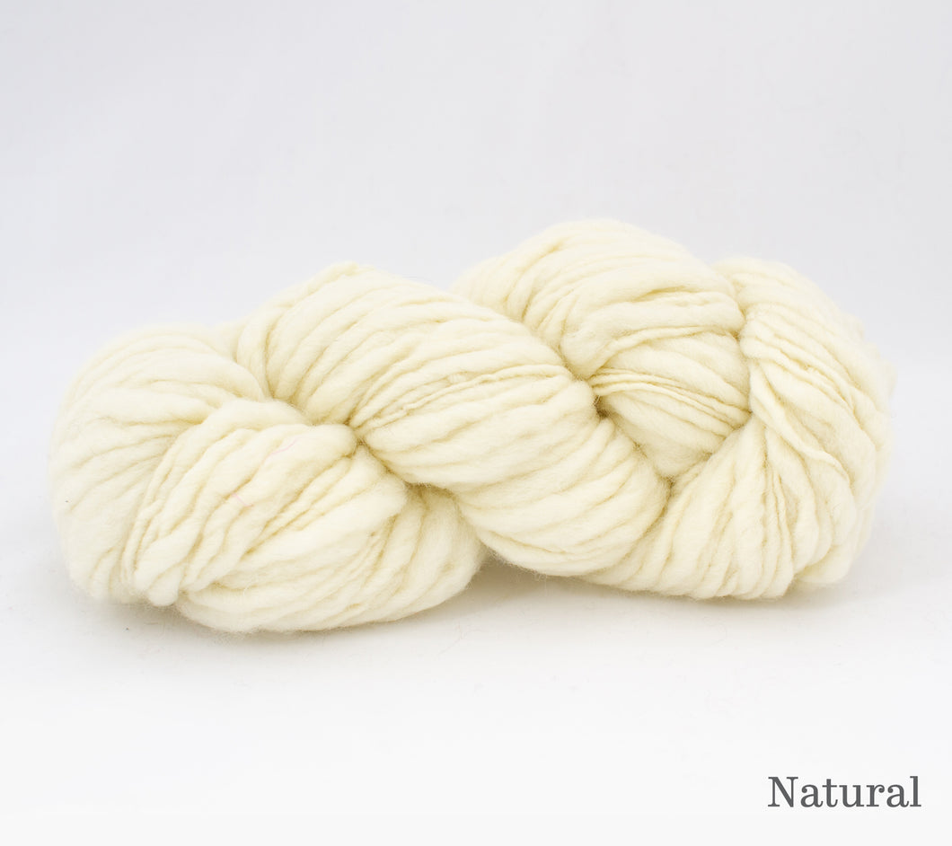 Fleece Artist Slubby Blue in Natural