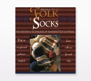 Book cover of Folk Socks