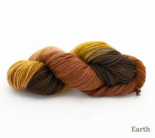 Load image into Gallery viewer, A skein of Hand Maiden Cashmere 4 ply in Earth