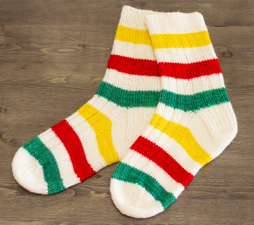 A pair of HBC Inspired Socks