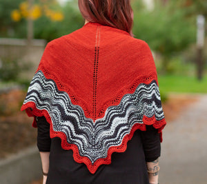 Hot Shawl Pattern