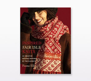 A book cover of Inspired Fair Isle Knits