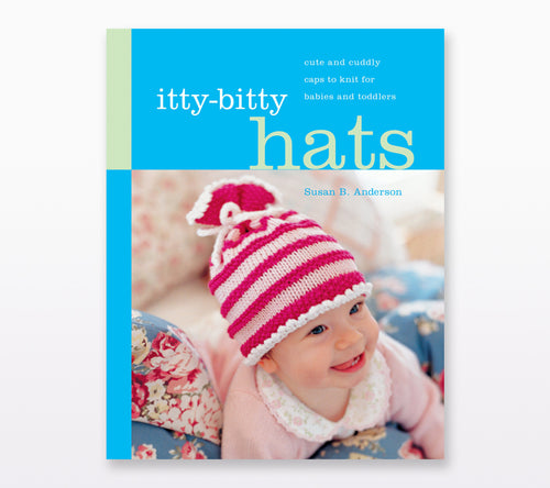 A book cover of Itty-Bitty Hats