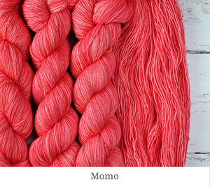 A close up of Julie Asselin Fino in Momo