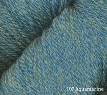 Load image into Gallery viewer, A close up of Juniper Moon Patagonia Organic Merino in 107 Aquamarine