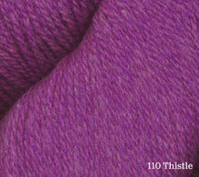 Load image into Gallery viewer, A close up of Juniper Moon Patagonia Organic Merino in 110 Thistle