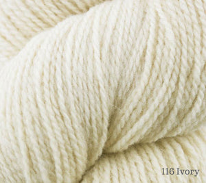 A close up of Juniper Moon Patagonia Organic Merino in 116 Ivory
