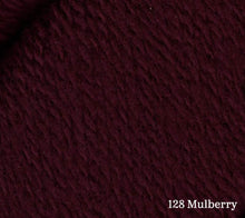 Load image into Gallery viewer, Juniper Moon Farm Patagonia Organic Merino in 128 Mulberry