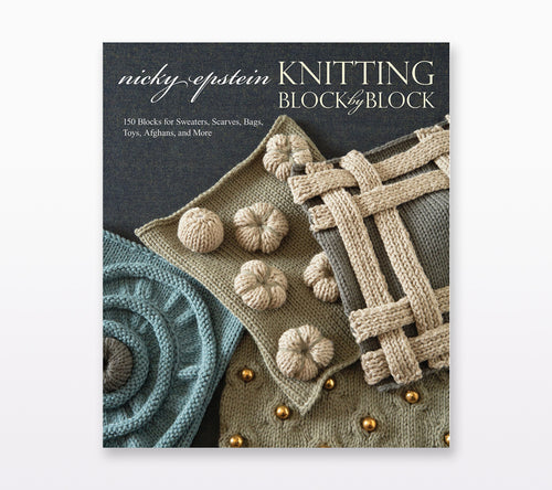 A cover of Knitting Block by Block