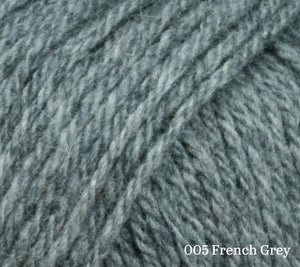 A close up of Lang Cashsoft Baby in 005 French Grey