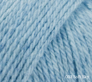 A close up of Lang Cashsoft Baby in 033 Soft Sky