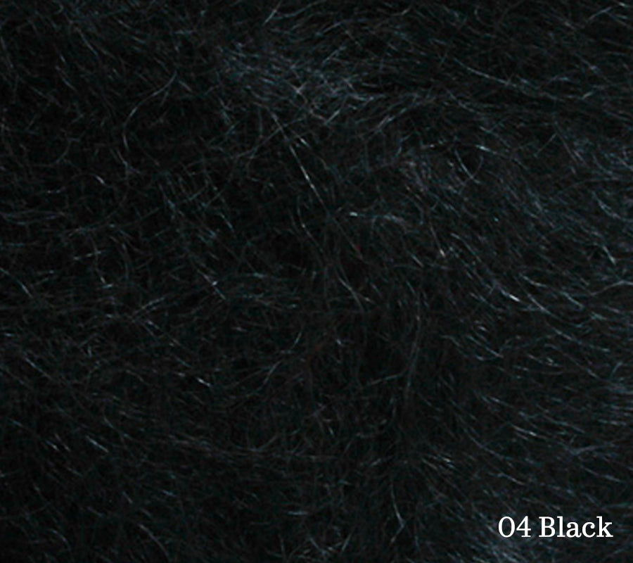 A close up of Lang Lace in 04 Black