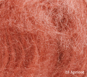 A close up of Lang Lace in 28 Apricot