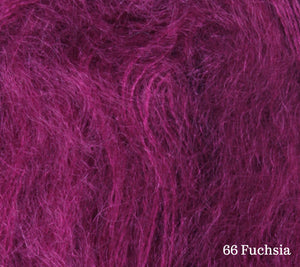 A close up of Lang Lace in 66 Fuchsia