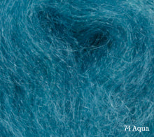 Load image into Gallery viewer, A close up of Lang Lace in 74 Aqua