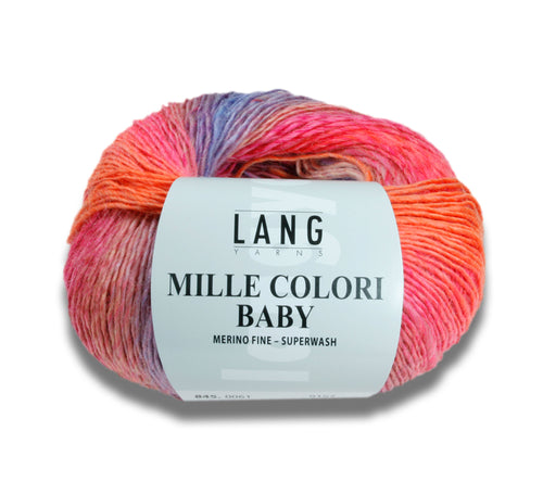 A ball of Lang Mille Colori Baby