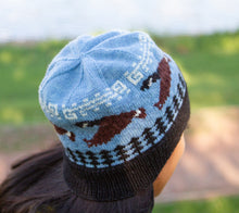 Load image into Gallery viewer, A woman wearing a Little Goose Tuque