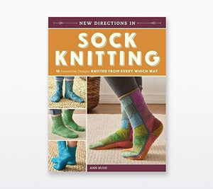A cover of New Directions in Sock Knitting