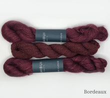 Load image into Gallery viewer, Ossa Shawl Kit in Bordeaux
