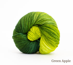 A ball of RCY Eden in Green Apple