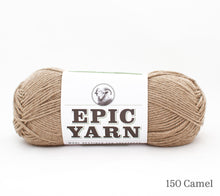 Load image into Gallery viewer, A ball of Epic Yarn in 150 Camel