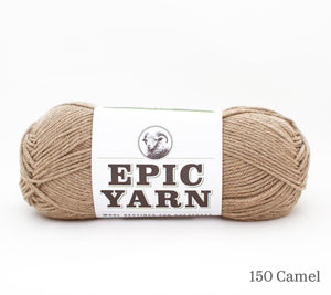 A ball of Epic Yarn in 150 Camel