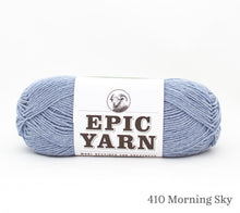 Load image into Gallery viewer, A ball of Epic Yarn in 410 Morning Sky