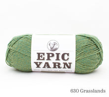 Load image into Gallery viewer, A ball of Epic Yarn in 630 Grasslands