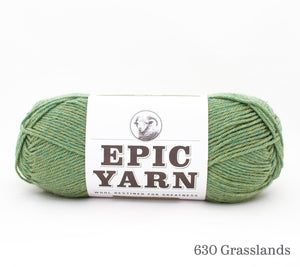 A ball of Epic Yarn in 630 Grasslands