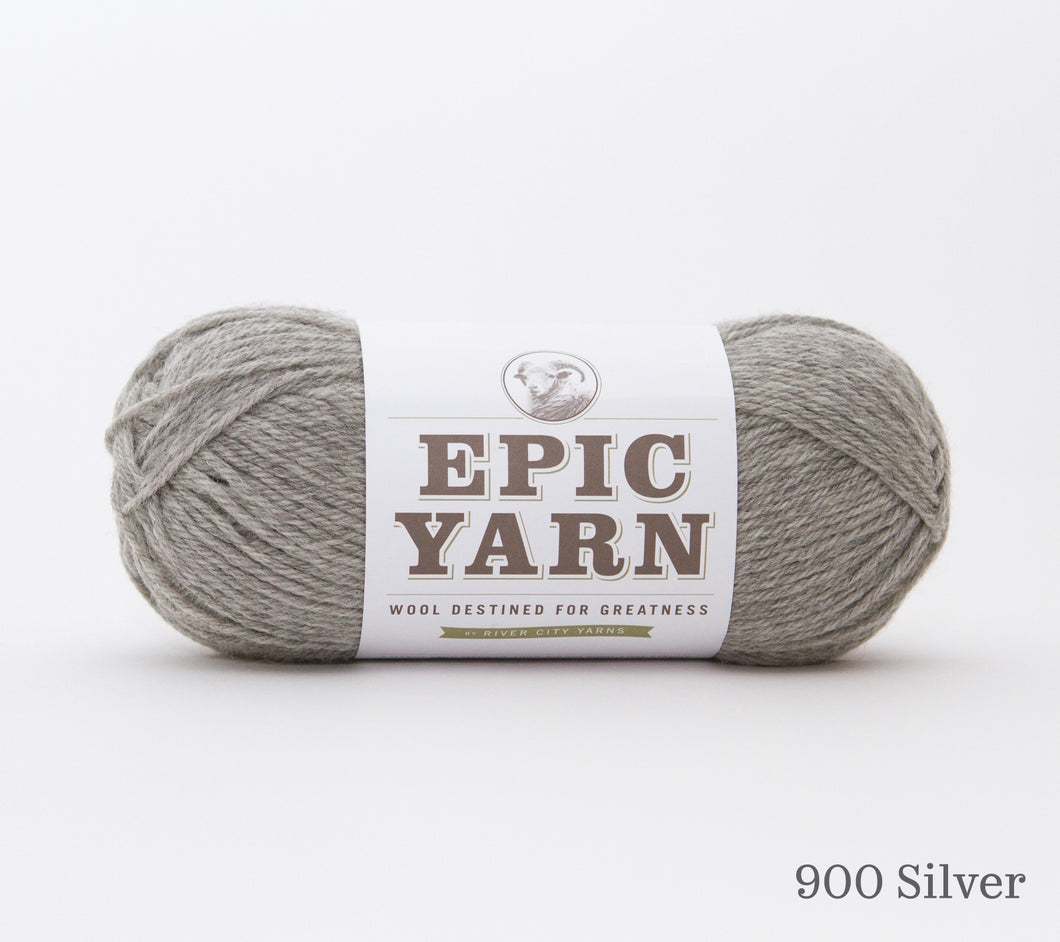A ball of Epic Yarn in 900 Silver
