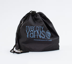 RCY Black Nylon Project bag