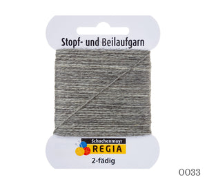 A card of Regia 2 Ply Reinforcement Thread in 0033