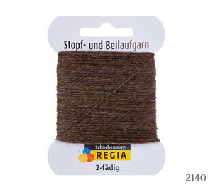 A card of Regia 2 Ply Reinforcement Thread in 2140