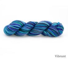 Load image into Gallery viewer, A skein of Rhichard Devrieze Fynn in Vibrant