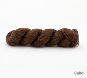 A skein of Rhichard Devrieze Peppino in Cake!