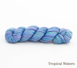 A skein of Rhichard Devrieze Peppino in Tropical Waters