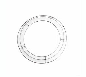Round Wire Wreath Frame