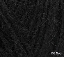 Load image into Gallery viewer, A close up of Rowan Alpaca Classic in 103 Noir