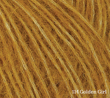 Load image into Gallery viewer, A close up of Rowan Alpaca Classic in 114 Golden Girl