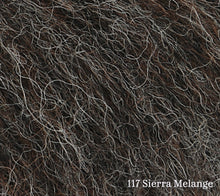 Load image into Gallery viewer, A close up of Rowan Alpaca Classic in 117 Sierra Melange