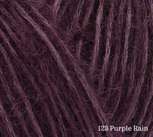 Load image into Gallery viewer, A close up of Rowan Alpaca Classic in 123 Purple Rain