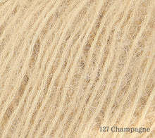 Load image into Gallery viewer, A close up of Rowan Alpaca Classic in 127 Champagne