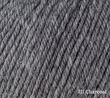 Load image into Gallery viewer, A close up of Rowan Alpaca Soft DK in 211 Charcoal