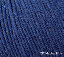 Load image into Gallery viewer, A close up of Rowan Alpaca Soft DK in 212 Marine Blue
